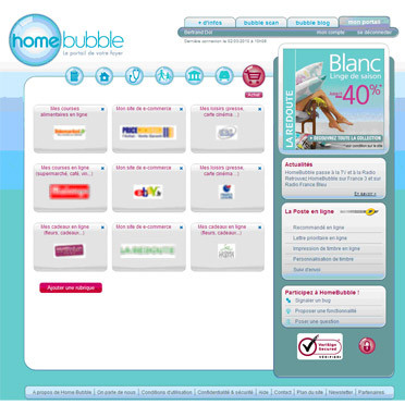 Home Bubble, le portail du foyer