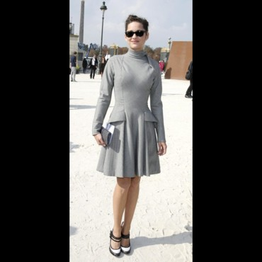 Les stars à la Fashion Week de Paris : Marion Cotillard