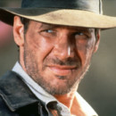 Harrison Ford dans le film Indiana Jones et le temple maudit