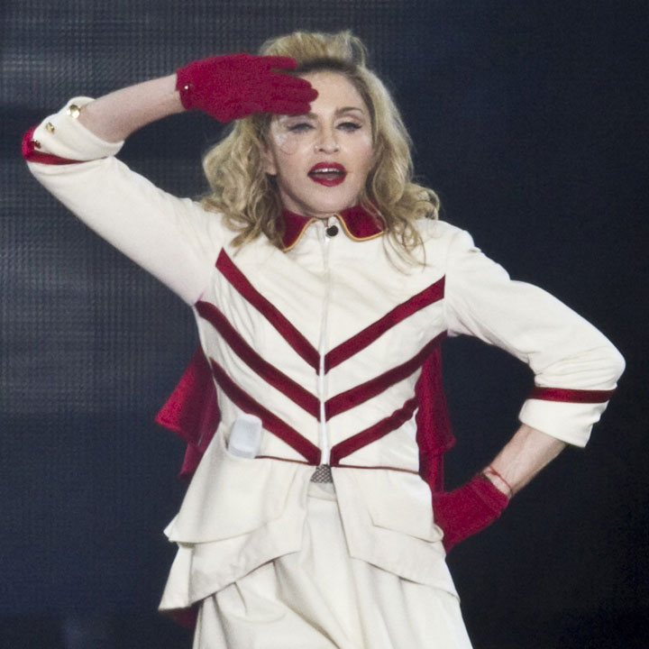 Madonna concert MDNA Tour maquillée par Make Up for Ever