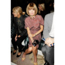 Fashion Week Anna Wintour au défilé Erdem 2011/2012