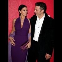Photo : Monica Bellucci et Vincent Cassel sur le tapis rouge des César