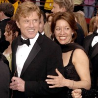 Photo : Robert Redford et Sibylle Szaggars, en couple depuis 1996