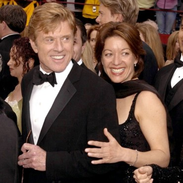 people : Robert Redford et Sibylle Szaggars