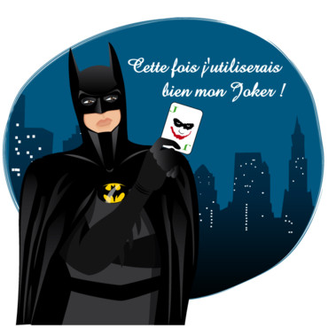 Batman et son joker