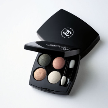 Maquillage Chanel : les 4 ombres