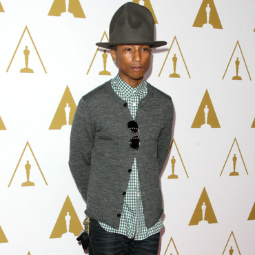 Pharrell Williams au diner pré Oscars à Los Angeles le 10 février 2014