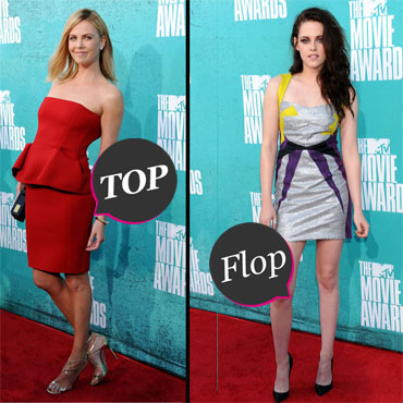 MTV Movie Awards Charlize Theron vs Kristen Stewart 720
