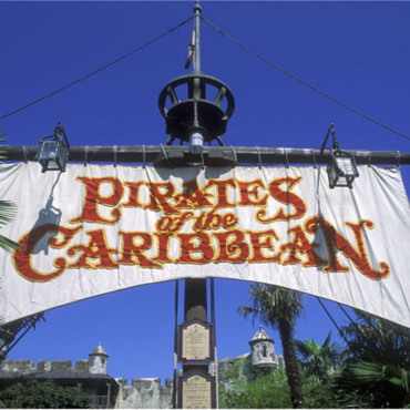 Attraction Pirates of the Caribbean