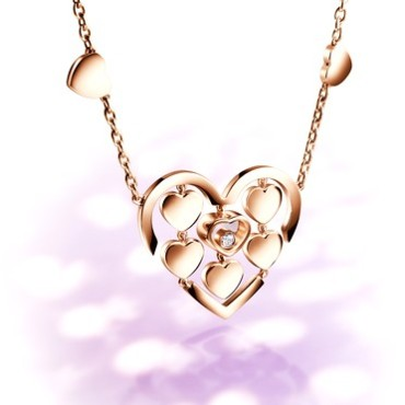 Collier Happy Amore Chopard 3060 euros