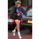 Lady Di, look sportif