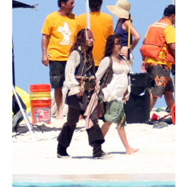 Johnny Depp Penelope Cruz Pirates des Caraïbes