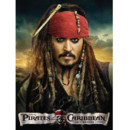 Affiche Pirates des Caraïbes Johnny Depp