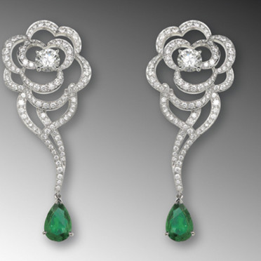 Boucles d'oreilles Chanel - Copyright © <Chanel Joaillerie>