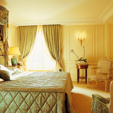 Suite Louis XV au Crillon