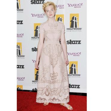 15e Hollywood Gala Awards Elle Fanning
