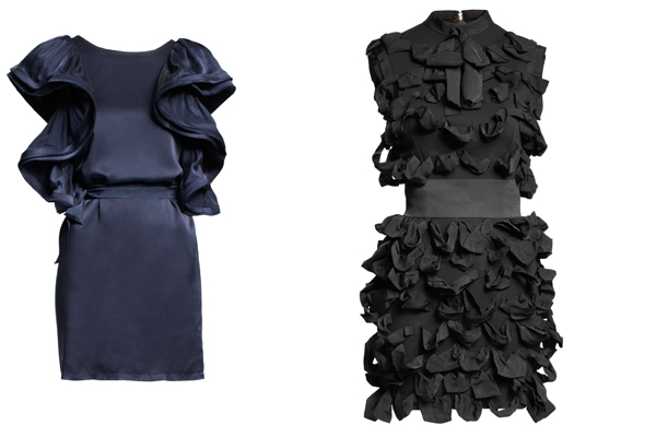 Lanvin loves h&M les robes