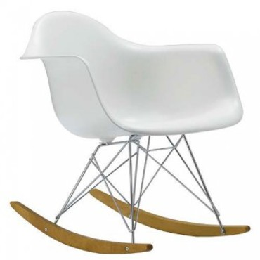Le rocking-chair RAR de Eames chez Vitra