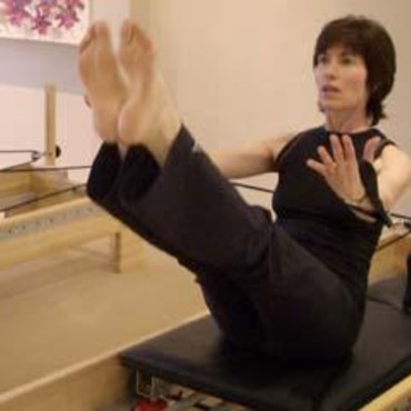 Martine Curtis Pilates machine