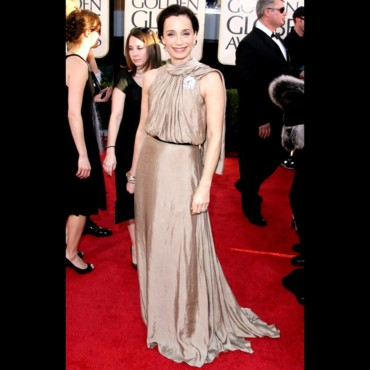 Kristin Scott Thomas aux Golden Globes 2009
