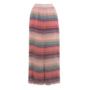 La jupelongue multicolore Miss Selfridge 75 euros