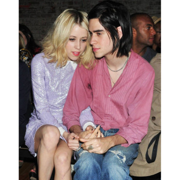 Fashion Week Londres Peaches Geldof et son petit copain Thomas Cohen défilé Y-3
