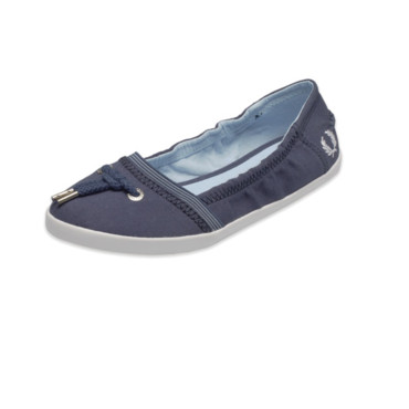 Ballerines esprit chambray Fred Perry 70 euros