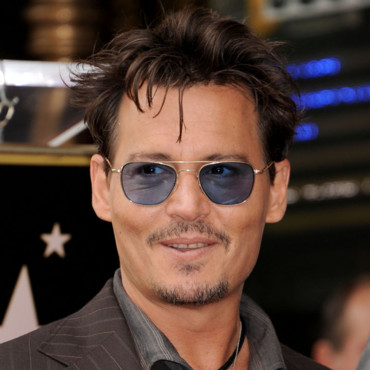 Johnny Depp lors de la cérémonie d'intronisation de Jerry Bruckheimer sur le Hollywood Walk of Fame à Los Angeles en juin 2013