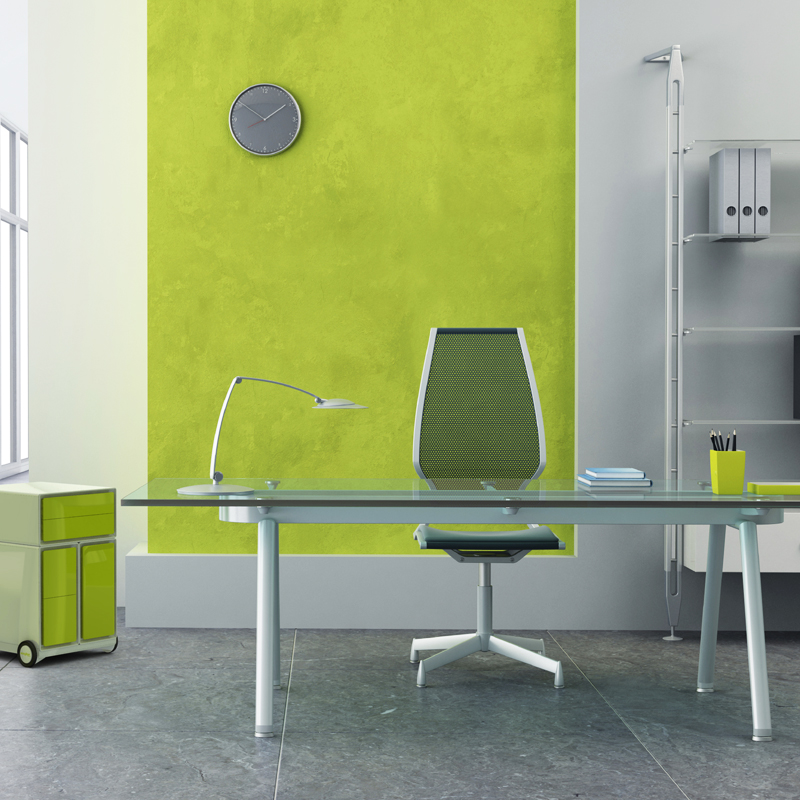 D co bureau couleur mur d co sphair - Idee deco couleur mur ...