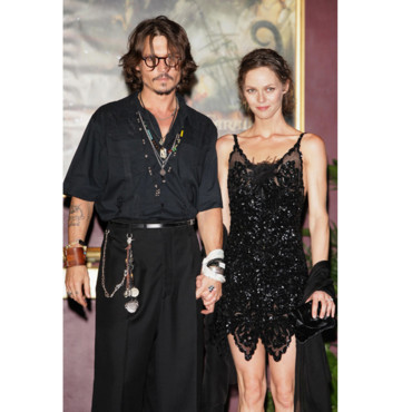 Mode de star Johnny Depp Vanessa Paradis