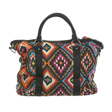 Sac imprimé Aztèque Miss Selfridge 49 euros