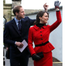Kate Middleton et le Prince William en premier voyage officiel