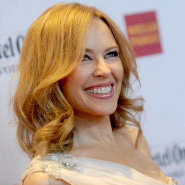 Kylie Minogue au 25ème « Annual GLAAD Media Awards » à New York le 3 mai 2014.