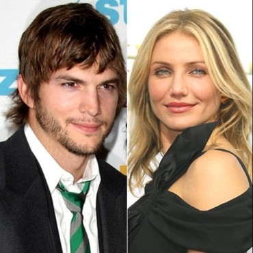 people : Ashton Kutcher et Cameron Diaz