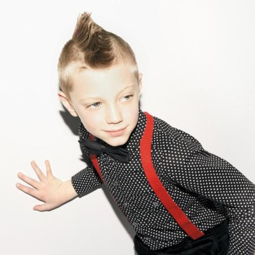 Le look garçon dandy de Little Marc Jacobs