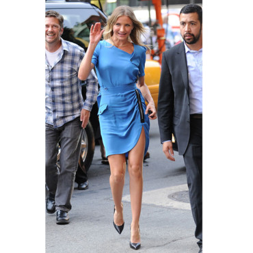 Cameron Diaz pour le David Letterman Show promo Bad Teacher