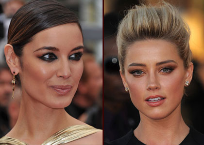 montage smoky eye Amber Heard