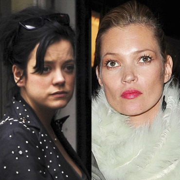 Lily Allen VS Kate Moss