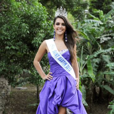 Candidates Miss France 2013 : Suzon Bonnet, Miss Saint-Martin 2012
