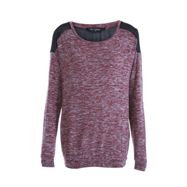 Le sweat bimatière Misselfridge 36 euros