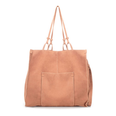 Shopper saumon Zara 39,95 euros