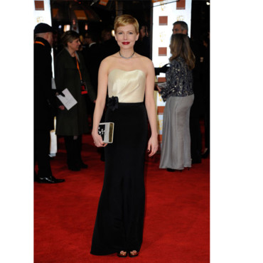 Bafta Michelle Williams en H&M