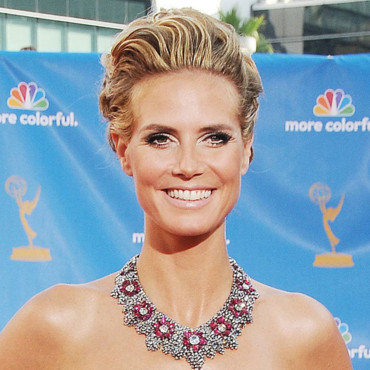 Heidi Klum aux Emmy Awards 2010