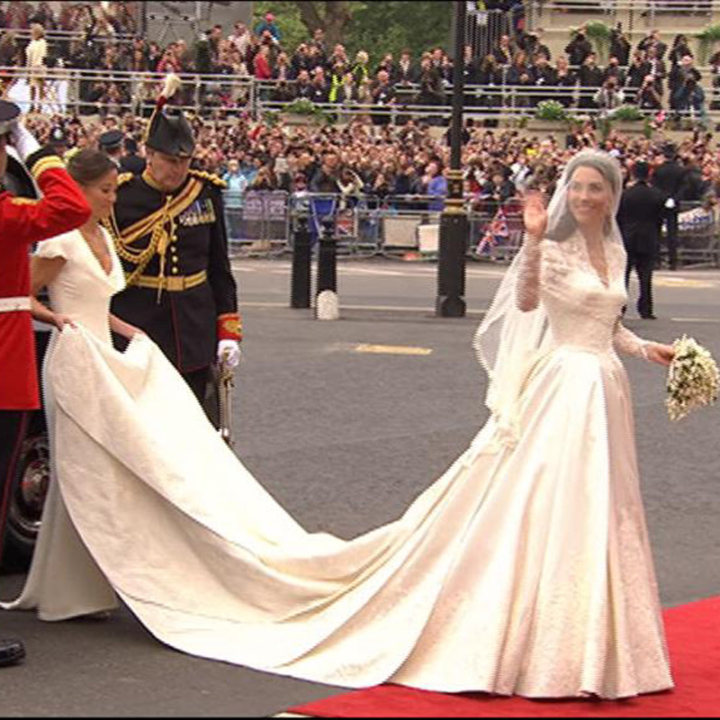 Couleur robe de mariee kate middleton
