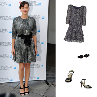 Sélection shopping Marion Cotillard