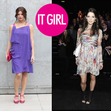 Ashley Greene à Milan it girl