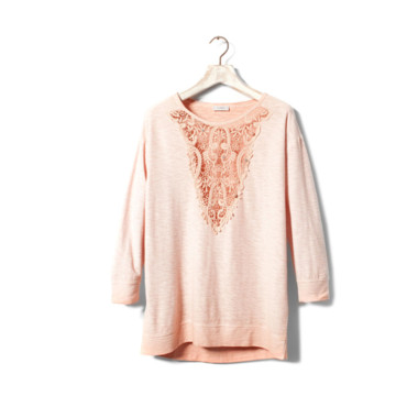 Le sweat girly Pull & Bear 30 euros