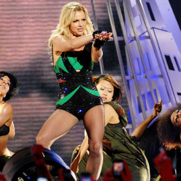 Britney Spears en concert à Los Angeles