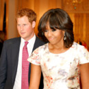 Le Prince Harry charme Michelle Obama et la Maison Blanche !