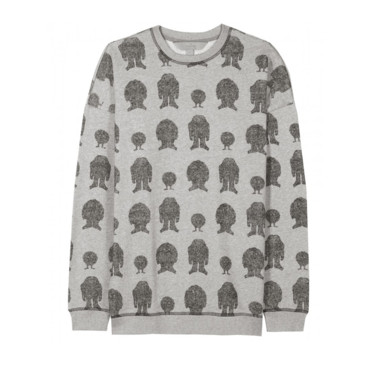 Le sweat imprimé naïf Mulberry 245 euros sur My Theresa